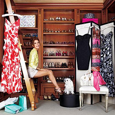Eva Longoria closet