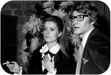 YSL and Cathering Deneuve