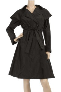 Bamford Silk Taffeta Trench Coat