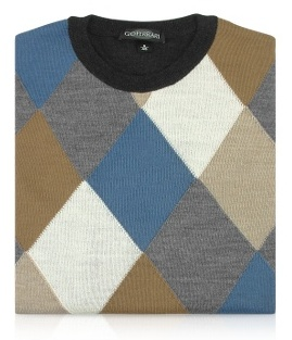 Gio Ferrari Argyle Sweater
