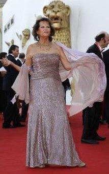 Claudia Cardinale at the 2008 Venice Film Festival