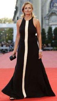 Isabella Ferrari on the red carpet