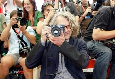 Wim Wenders at the 2008 Venice Film Festival