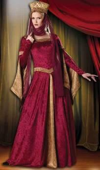 Pre-Raphaelite Maiden Costume