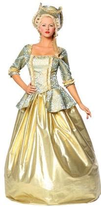 Marie Antoinette Halloween Costume - Full Length