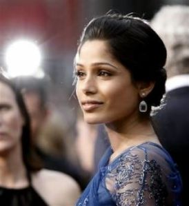 Freida Pinto at the Academy Awards