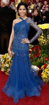Freida Pinto on the red carpet