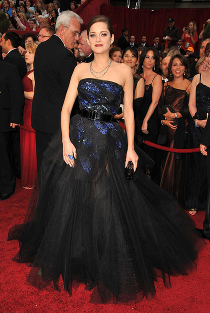 Marion Cotillard at the Oscars