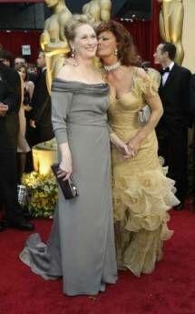 Meryl Streep and Sophia Loren