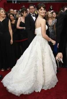 Penelope Cruz on the red carpet