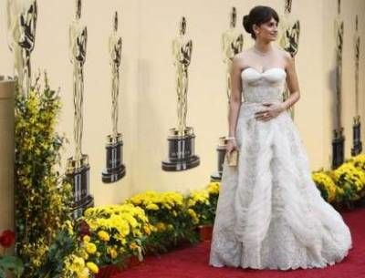 Penelope Cruz at the Academy Awards