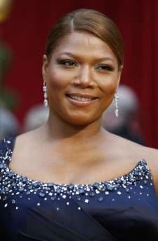 Queen Latifah on the red carpet