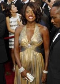 Viola Davis at the Academy Awards