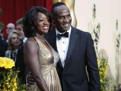 Viola Davis on the red carpet