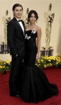 Zac Efron and Vanessa Hudgens at the Oscars