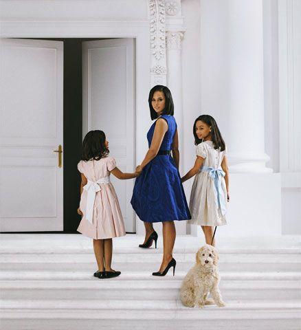 Alicia Keys as Michelle Obama