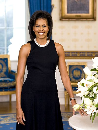 Michelle Obama official First Lady portrait