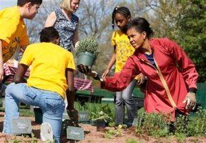 Obama Organic Garden