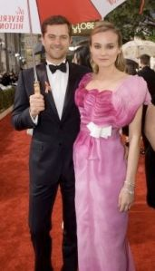 Diane Kreuger and Joshua Jackson