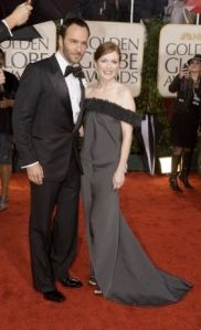 Julianne Moore with Tom Ford