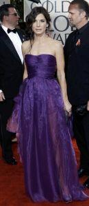 Sandra Bullock at the 2010 Golden Globes