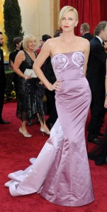 Charlize Theron at the 2010 Academy Awards