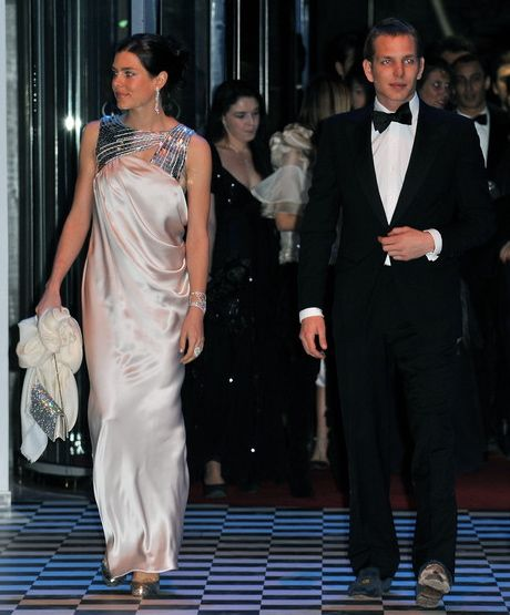 Charlotte Casiraghi and Andrea Casiraghi at the 2010 Rose Ball in Monaco