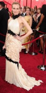 Diane Kruger at the 2010 Oscars