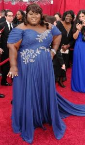 Gabourey Sidibe at the 2010 Academy Awards