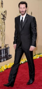Keanu Reeves at the 2010 Oscars