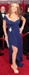 Mariah Carey at the 2010 Oscars