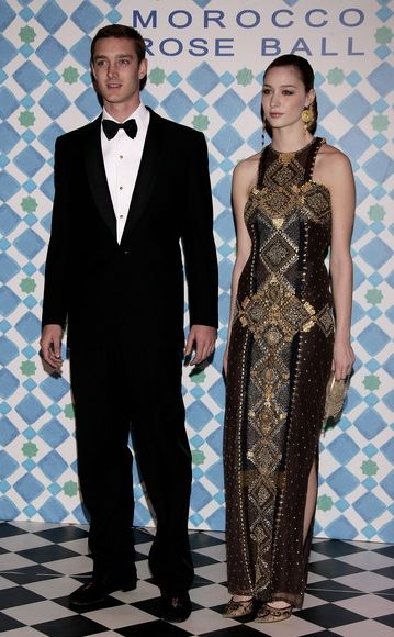 Pierre Casiraghi at the 2010 Rose Ball