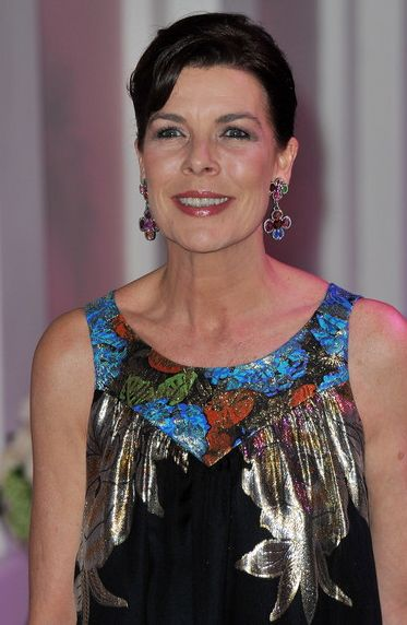Princess Caroline at the 2010 Rose Ball in Monaco