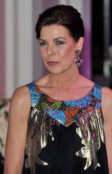 Beautiful Princess Caroline at the 2010 Rose Ball in Monaco