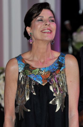 Princess Caroline of Hanover at the 2010 Rose Ball in Monaco